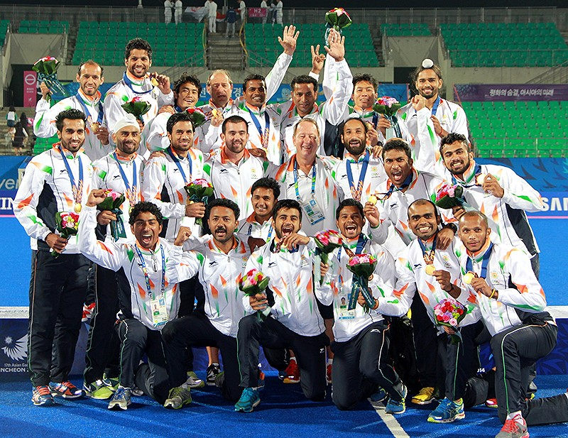 India Asian Games winners 2014 - Asian Games Champions