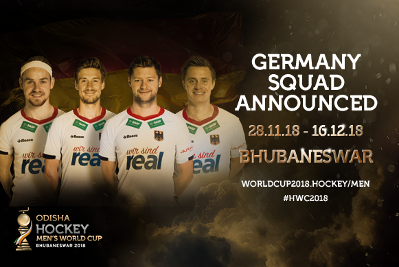 Germany announce squad for World Cup   FIH